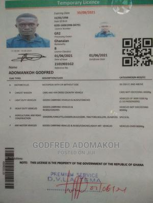 Driver CV   Driver CVs for sale in Greater Accra, Nungua