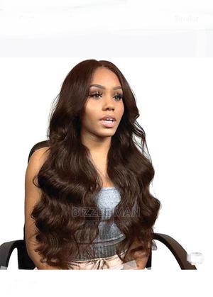 Quality Ladies Long Wig Body Wave - Dark Brown | Hair Beauty for sale in Ashanti, Kumasi Metropolitan