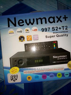 Newmax + S2 + T2 Decoder | TV & DVD Equipment for sale in Volta Region, Hohoe Municipal