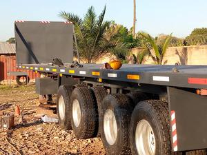"""4 Axles 45"""" Container Flatbed Semi Trailers   Trucks & Trailers for sale in Greater Accra, Ga West Municipal"""
