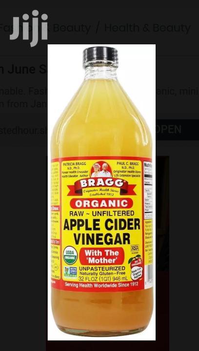 Bragg Apple Cider Vinegar Small Size | Vitamins & Supplements for sale in Kumasi Metropolitan, Ashanti, Ghana