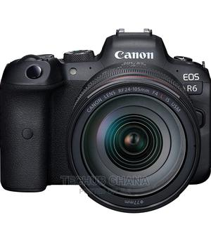 Canon EOS R6 Full-Frame Mirrorless Camera Rf24-105mmf4 L | Photo & Video Cameras for sale in Greater Accra, Darkuman