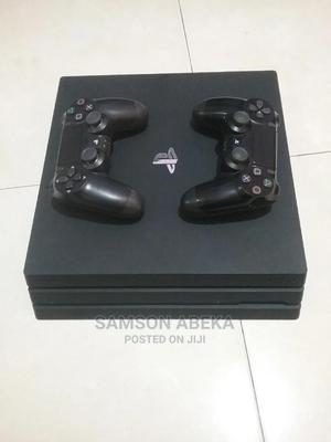 Playstation 4(Ps4)Pro 1tb+2pads+Fifa 21 | Video Game Consoles for sale in Greater Accra, Dome