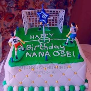 Football Pitch Birthday Cake From Ahenemma Catering Service | Meals & Drinks for sale in Ashanti, Kumasi Metropolitan