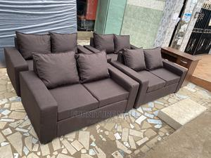 Two in One Sofa. Free Delivery   Furniture for sale in Greater Accra, Adenta