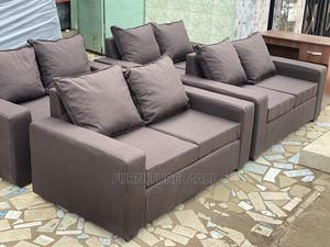 Modernized 2in1 Sofa  . Free Delivery   Furniture for sale in Greater Accra, Abelemkpe