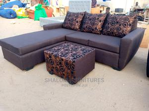 L Shape Sofa Coffee Color   Furniture for sale in Greater Accra, Circle