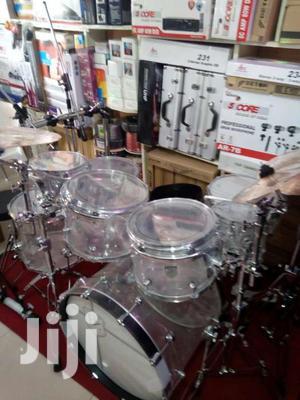 8 Piece Pz Transparent Drums