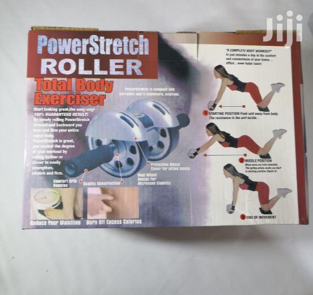 Power Stretch Ab Roller