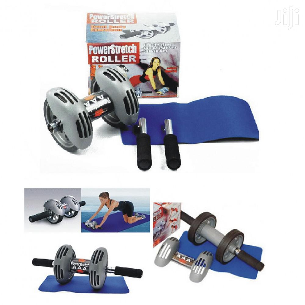 Power Stretch Ab Roller | Sports Equipment for sale in East Legon, Greater Accra, Ghana