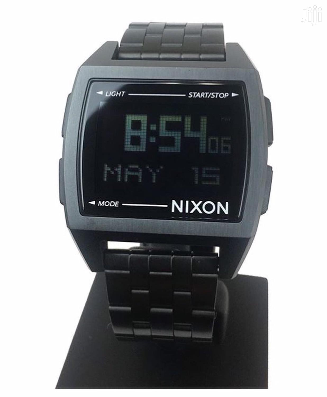Archive: Nixon Digital Black Watch