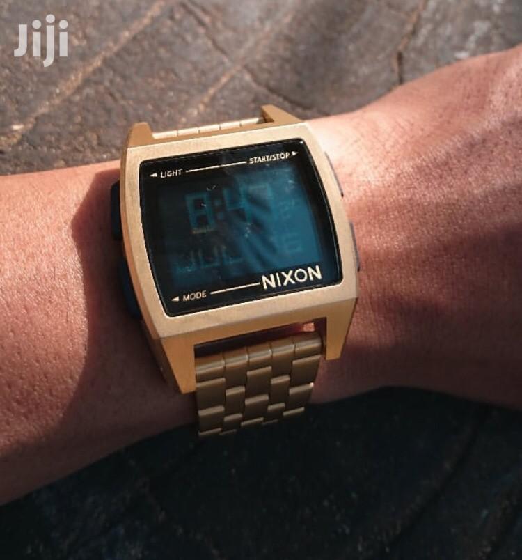 Archive: Nixon Digital Gold Watch