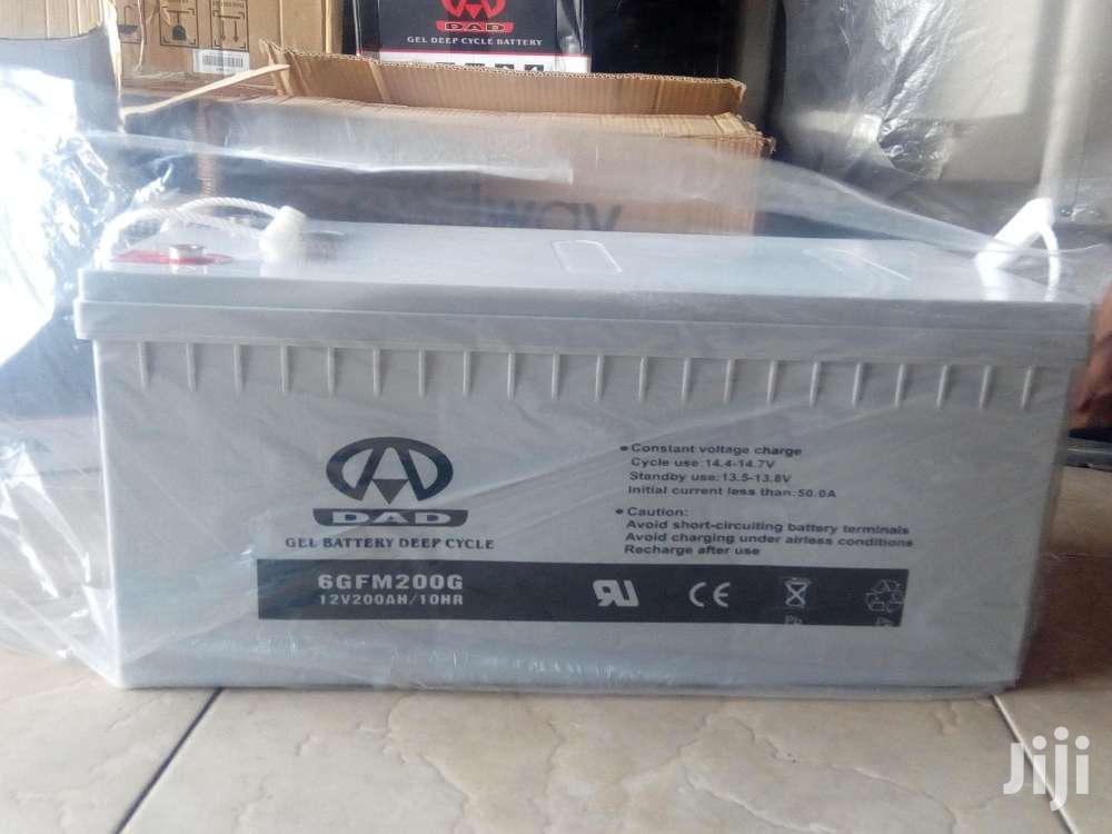 Archive: Solar Gel Battery 12v 200ah