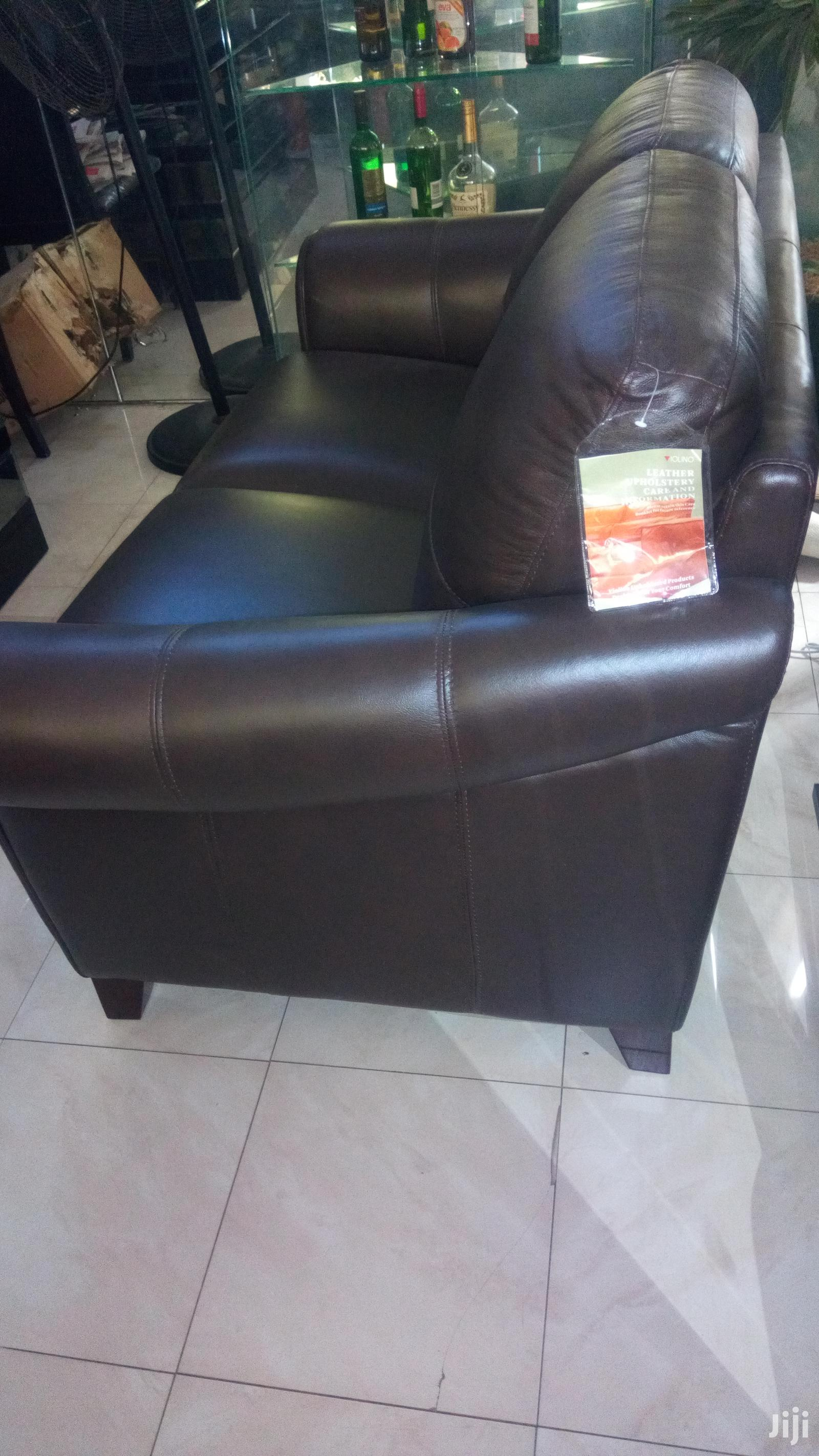 3 Piece USA Leather Sofa Set Kingston | Furniture for sale in Accra Metropolitan, Greater Accra, Ghana