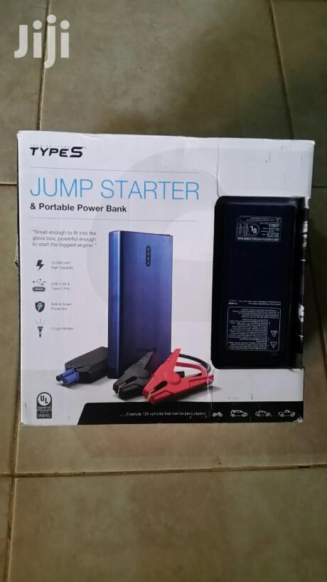 Type S Jump Starter & Portable Power Bank