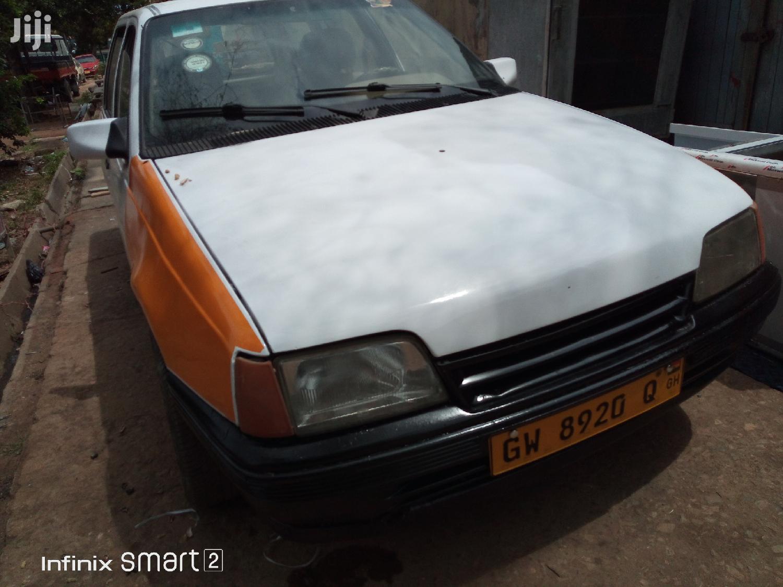 Opel Kadett 1990 E Cabriolet White