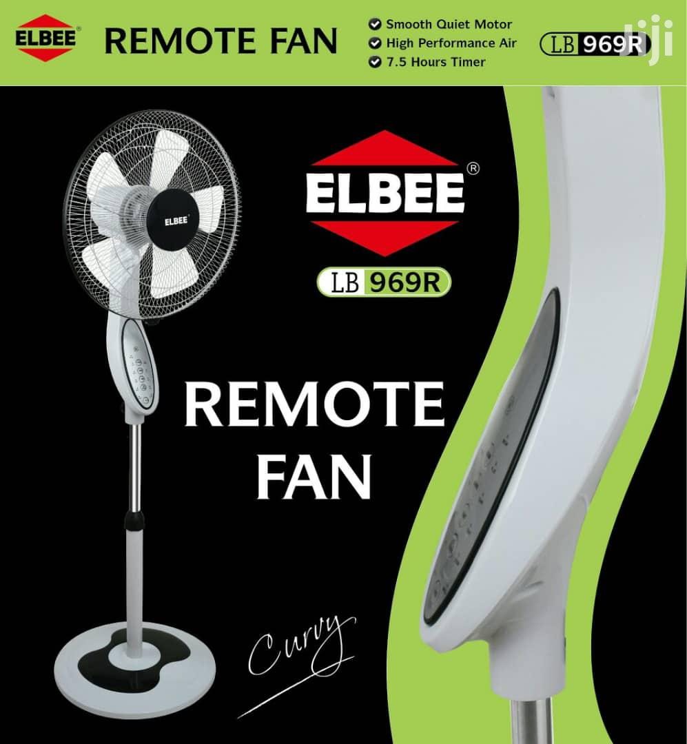 Elbee Curvy Remote Standing Fan