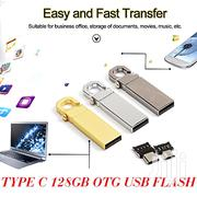 Generic 128GB Metal Key Lock Type-c USB 2.0 OTG USB DRIVE   Accessories for Mobile Phones & Tablets for sale in Greater Accra, Ashaiman Municipal