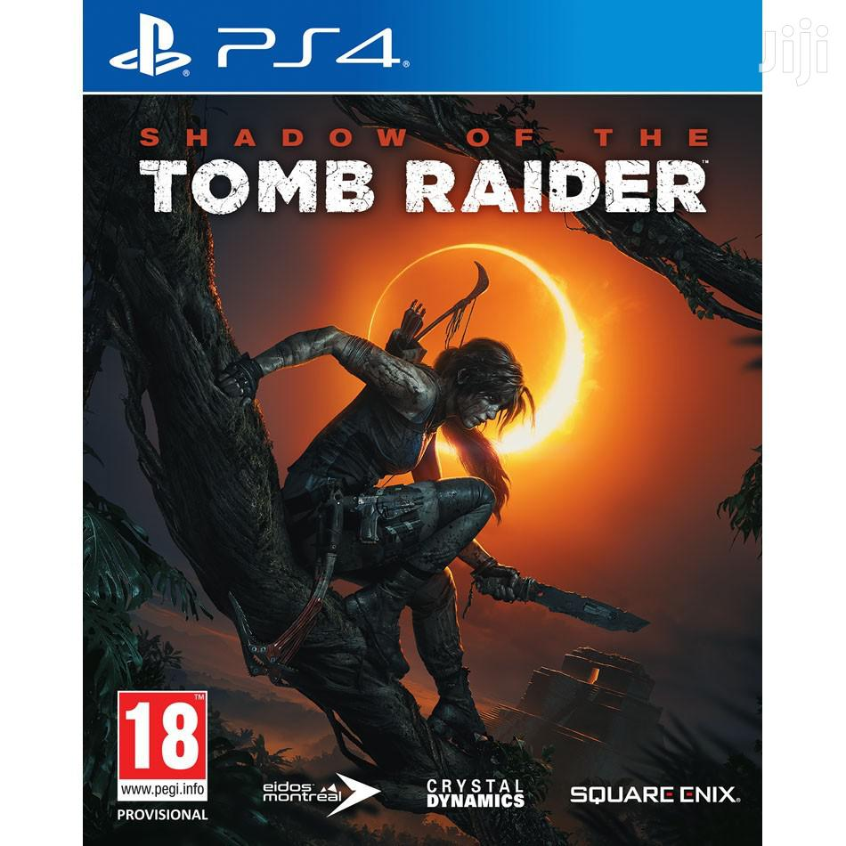 Ps4 Digital Games Shadow Of The Tomb Raider