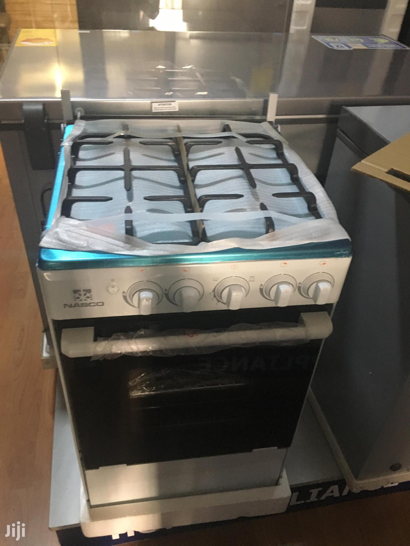Brand New Nasco 4 Burner Gas Cooker With Grill