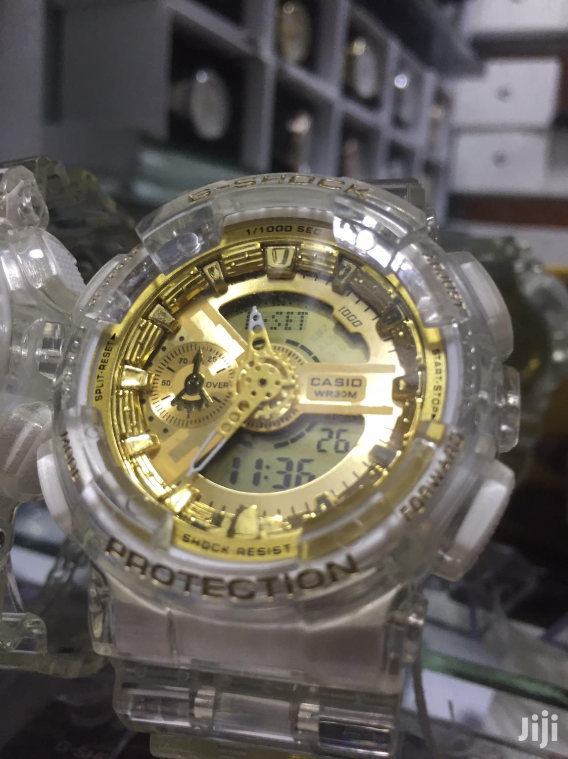 Archive: G-Shock Gold Watch