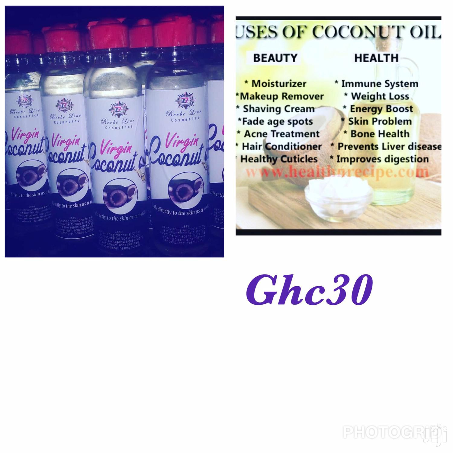 Organic Coconut Oil | Skin Care for sale in Airport Residential Area, Greater Accra, Ghana