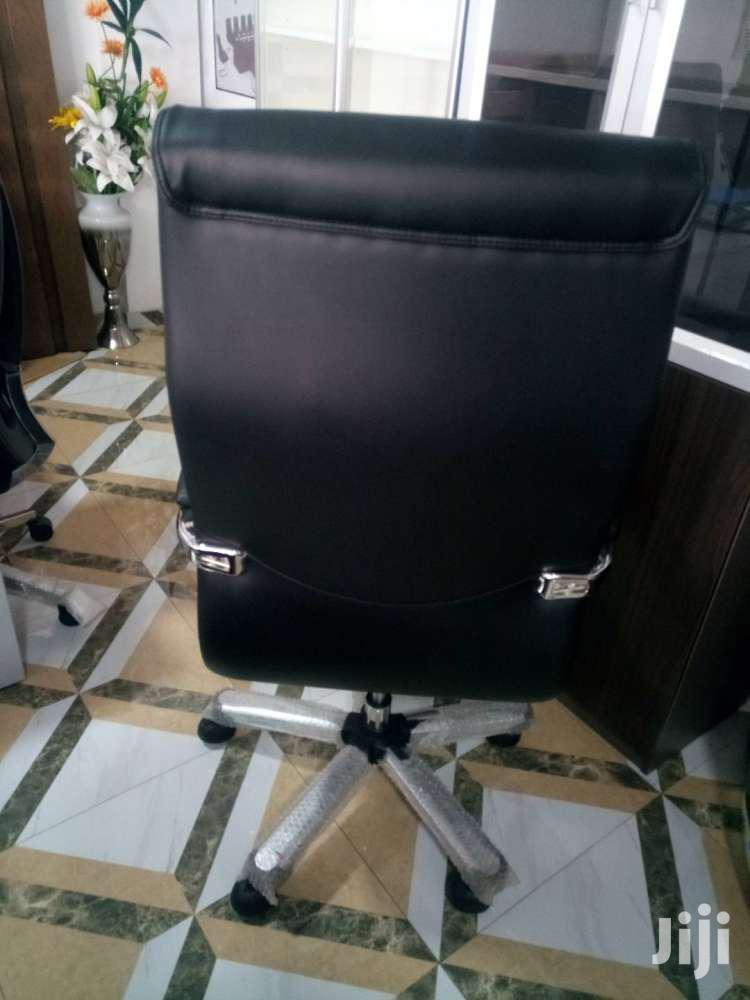 Archive: Executive Leather Office Swivel Chair - Code: MB19
