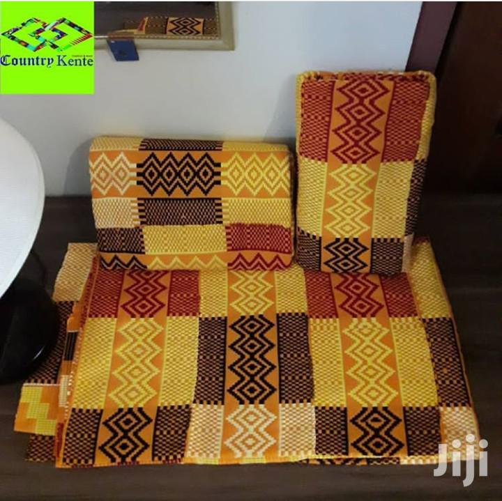 Hand Weaved Bonwire Kente Cloth, New | Clothing for sale in Labadi-Aborm, Greater Accra, Ghana