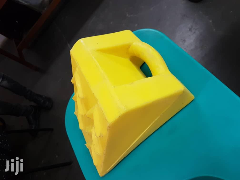 Plastic Wheel Chock   Safety Equipment for sale in Kwashieman, Greater Accra, Ghana