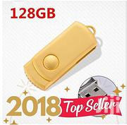 Generic Pendrive 128gb Usb Flash Drive Gold   Accessories & Supplies for Electronics for sale in Greater Accra, Ashaiman Municipal