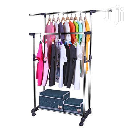 Double Pole Clothes Hanger