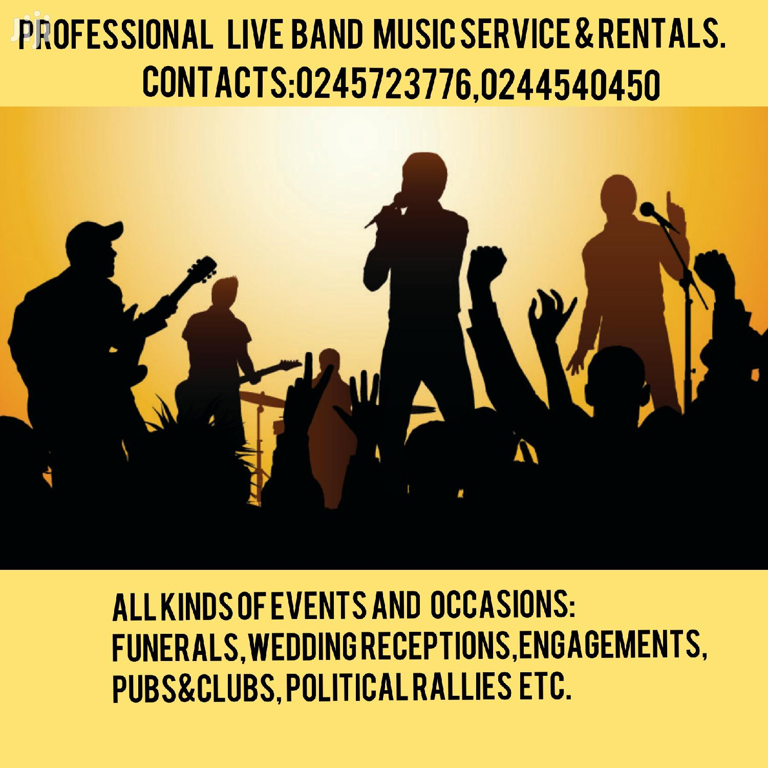Archive: Quality Live Band Services And Dj Services Available