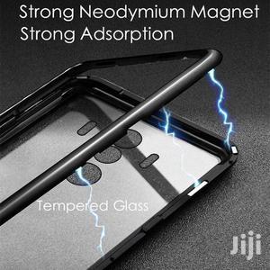 360 Magnetic Flip Case Metal Border