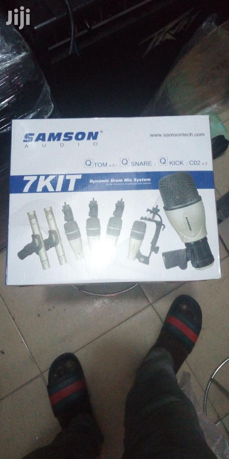Archive: Samson 7 Set Drum Mic