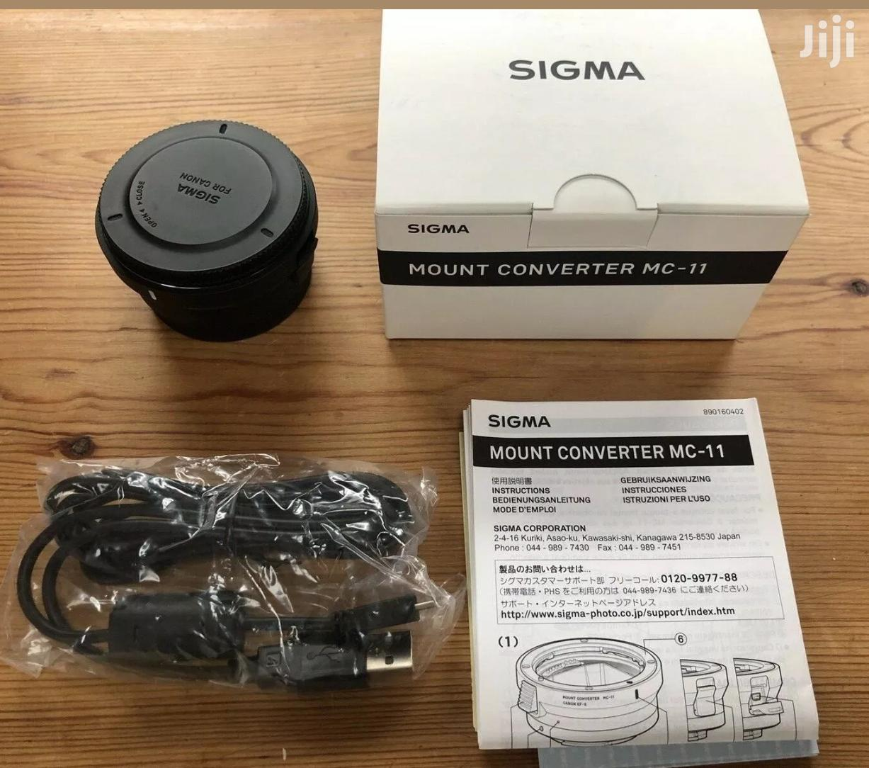 Sigma MC-11 Canon EF Mount Adapter To Sony E Mount