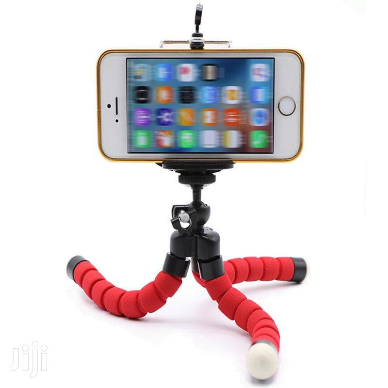 Archive: Mini Flexible Tripod With Phone Holder