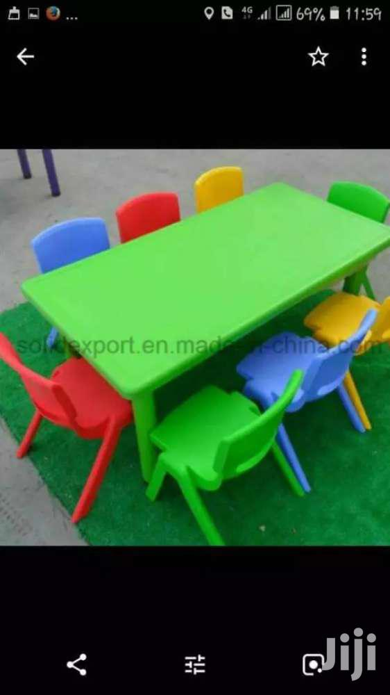 Rectangle Table for Pre School