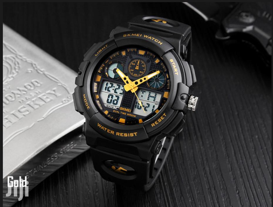Multi-function Water Resistance SKMEI Digital&Analogue Watch   Watches for sale in Achimota, Greater Accra, Ghana