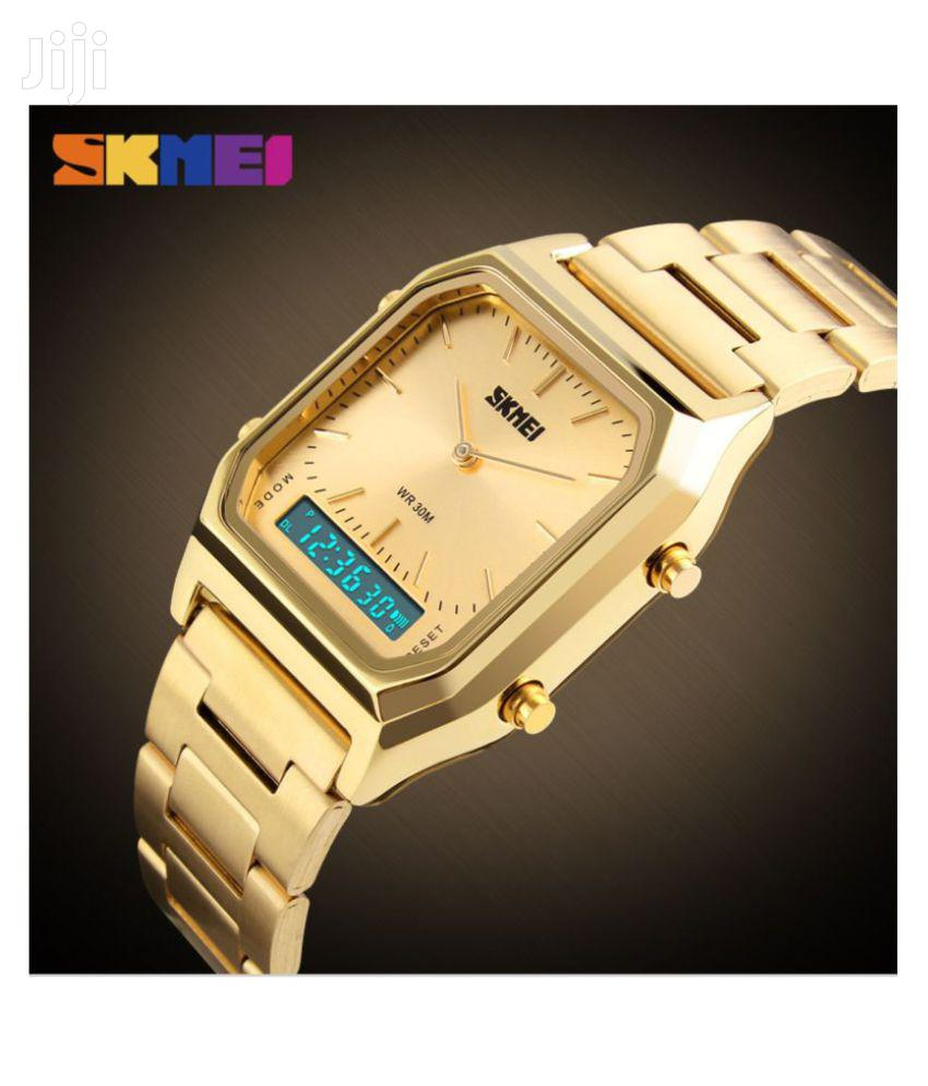 Analogue& Digital Skmei Sports Watch | 5ATM Water Resistance | Watches for sale in Achimota, Greater Accra, Ghana