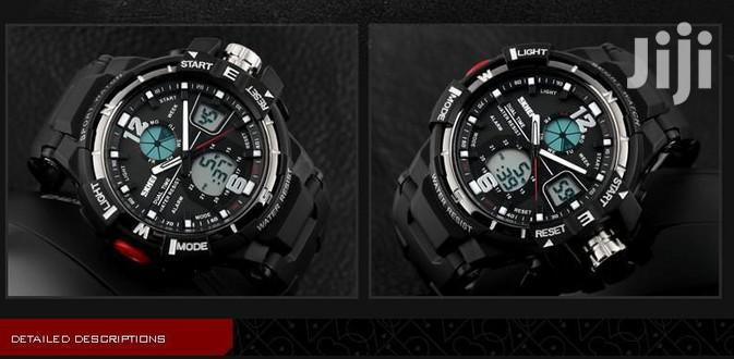 Anti Shock Skmei Dual Led Display Military Sports Watch | Watches for sale in Achimota, Greater Accra, Ghana