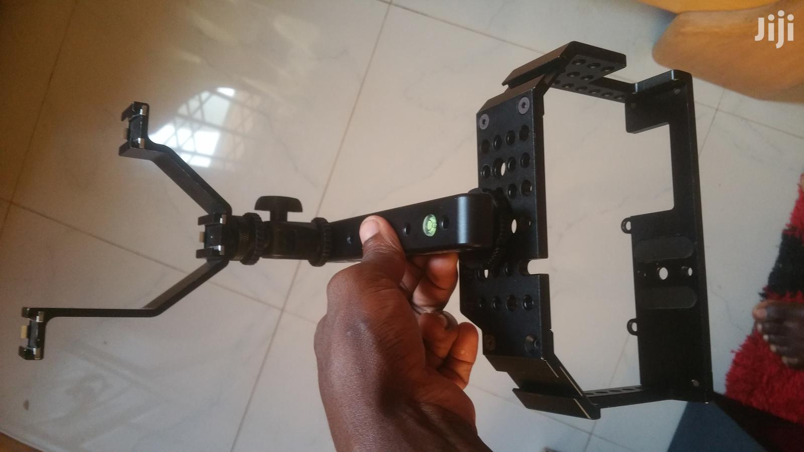 Movo Stabilizer And Dslr Camera Cage Together   Accessories & Supplies for Electronics for sale in Agona West Municipal, Central Region, Ghana