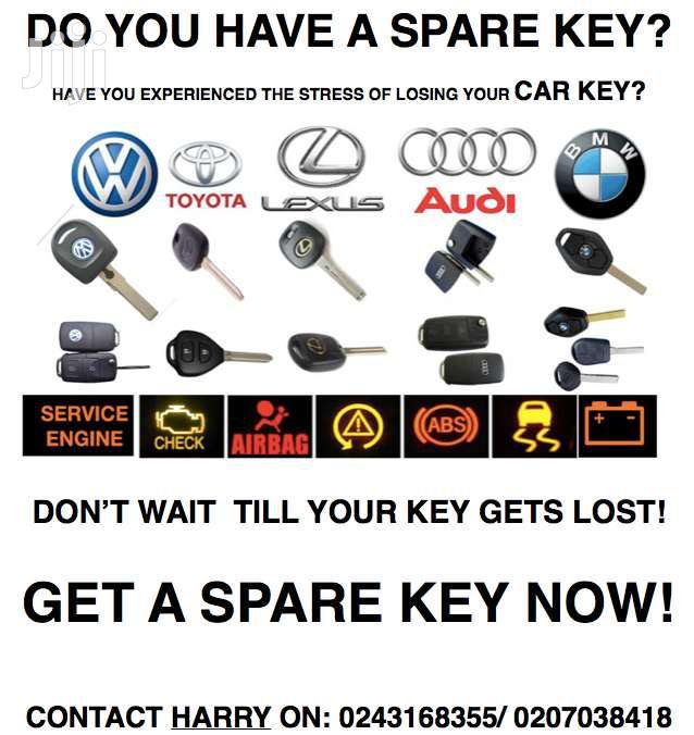 Key Programming - All Cars - No Keys , New Keys, Spare Keys
