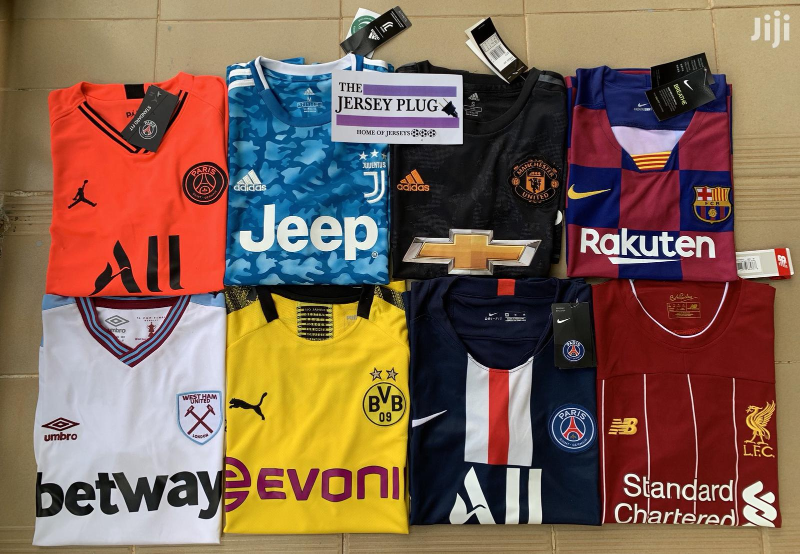 Original/Authentic Football Soccer Jersey Home/Away | Clothing for sale in Korle Gonno, Greater Accra, Ghana