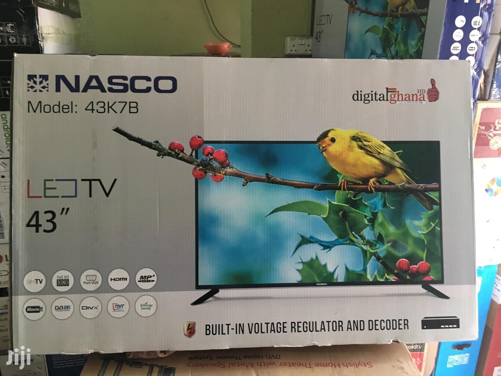 Brand New Nasco 43 Digital Satellite LED TV