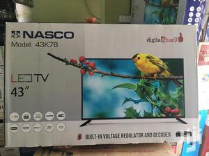 Brand New Nasco 43 Digital Satellite LED TV | TV & DVD Equipment for sale in Greater Accra, Accra New Town
