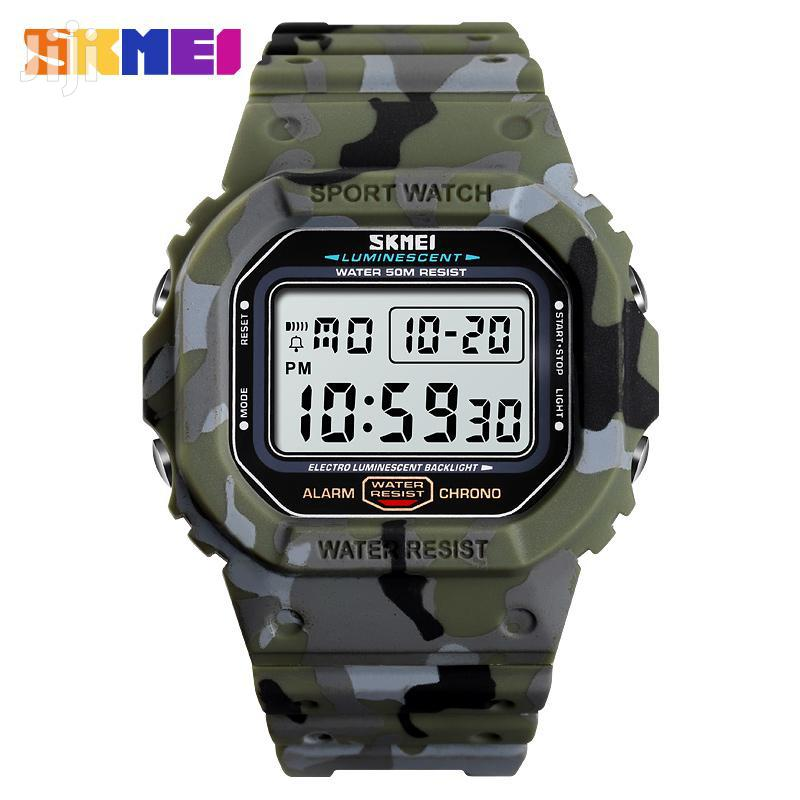 Skmei Military Digital Sports Watch | Watches for sale in Achimota, Greater Accra, Ghana