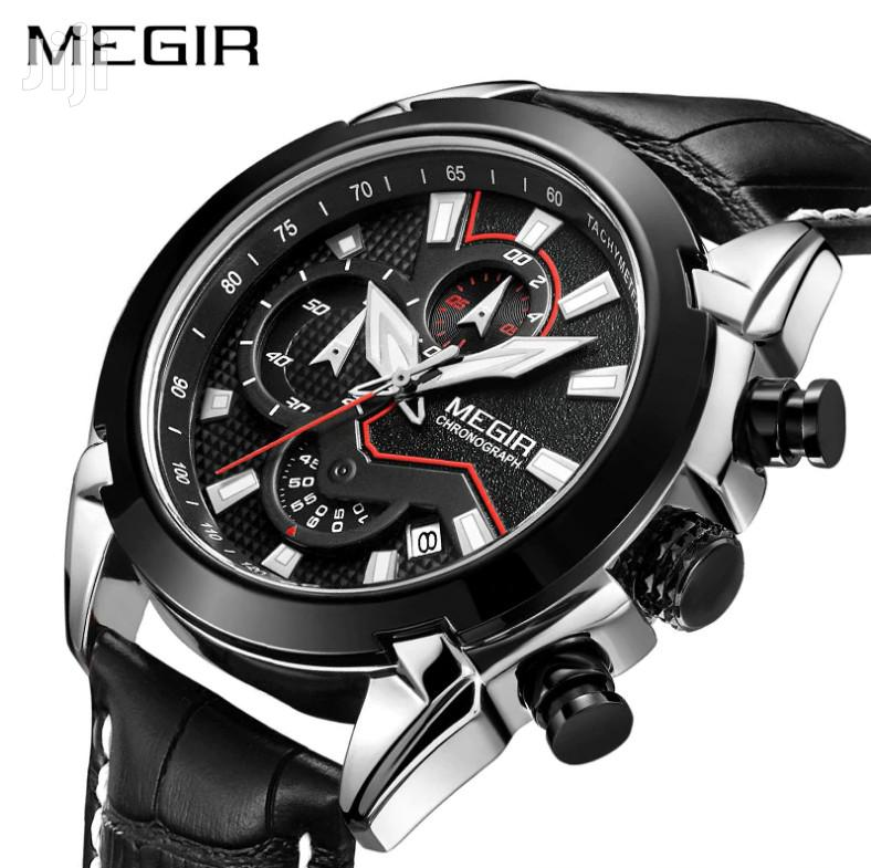 MEGIR MN2065 Men Calendar Chronograph Quartz Watch | Watches for sale in Achimota, Greater Accra, Ghana