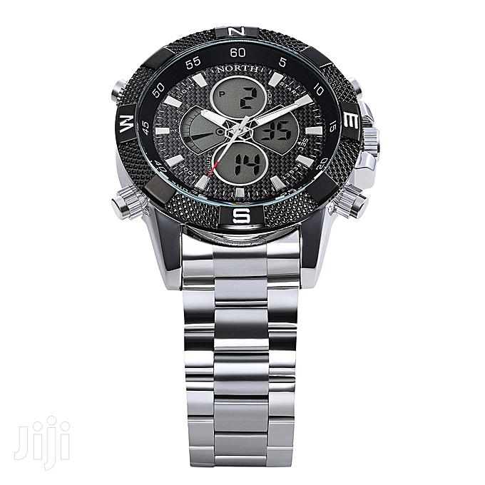 Chain Dual Display Compass Watch | Watches for sale in Achimota, Greater Accra, Ghana
