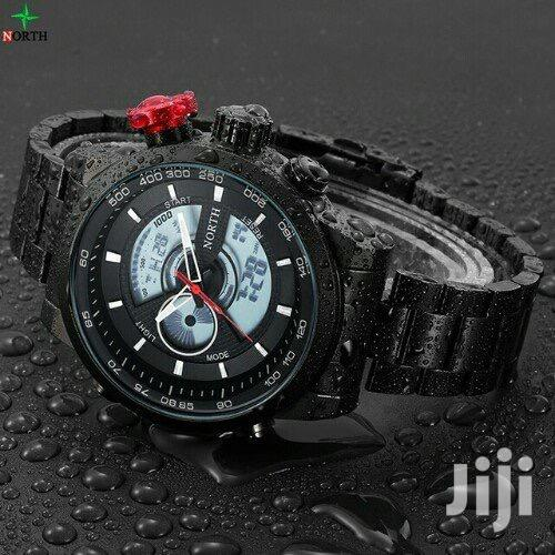 North Dual Time Chain Big Dial Watch | Watches for sale in Achimota, Greater Accra, Ghana
