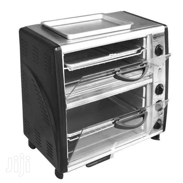 NEW CROWNSTAR TOASTER OVEN WITH TOP GRILL